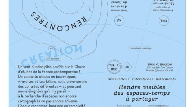 Rencontre indisciplinaire n°1 avec Pascal Nicolas-Le Strat et Emmanuelle Jacques